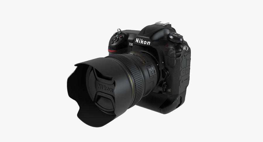 Nikon D5 Digital SLR Camera royalty-free 3d model - Preview no. 2