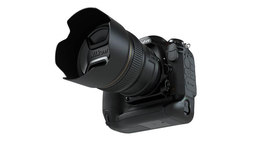 Nikon D5 Digitale Spiegelreflexkamera royalty-free 3d model - Preview no. 10