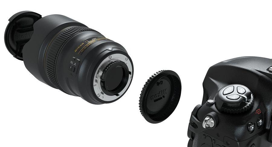 Nikon D5 Digital SLR Camera royalty-free 3d model - Preview no. 15