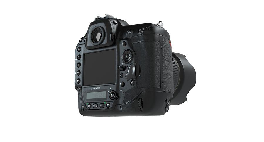 Nikon D5 Digital SLR Camera royalty-free 3d model - Preview no. 11
