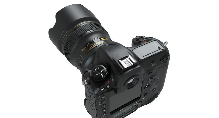 Nikon D5 Digital SLR Camera royalty-free 3d model - Preview no. 7