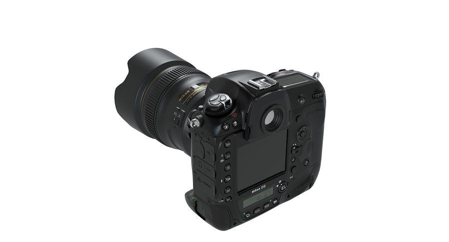Nikon D5 Digital SLR Camera royalty-free 3d model - Preview no. 6