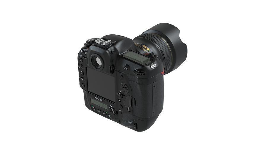 Nikon D5 Digital SLR Camera royalty-free 3d model - Preview no. 5