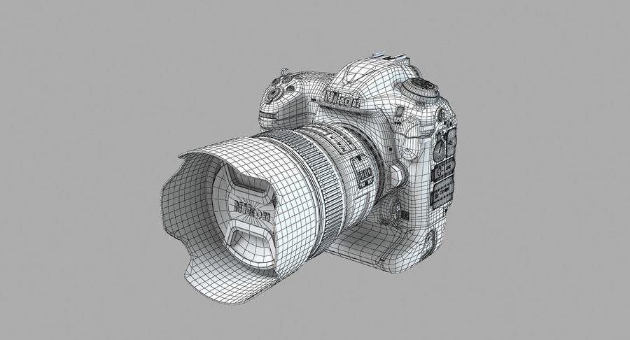 Nikon D5 Digital SLR Camera royalty-free 3d model - Preview no. 12