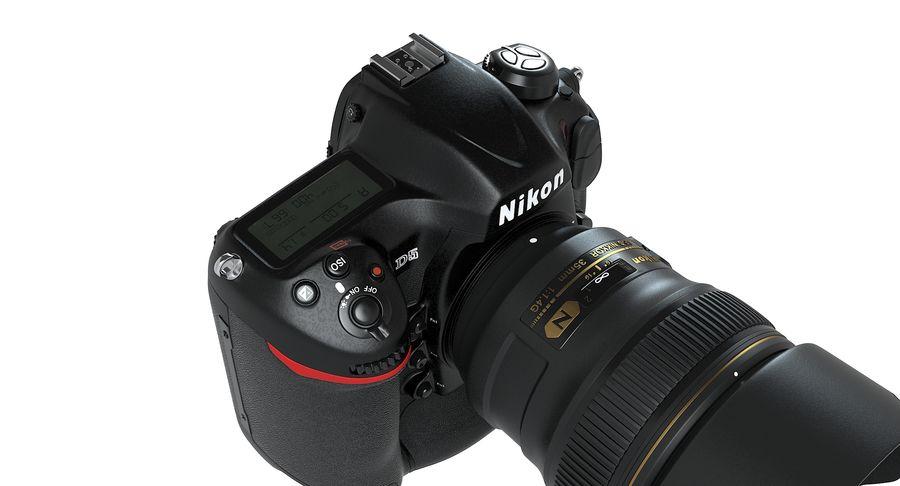 Nikon D5 Digital SLR Camera royalty-free 3d model - Preview no. 9