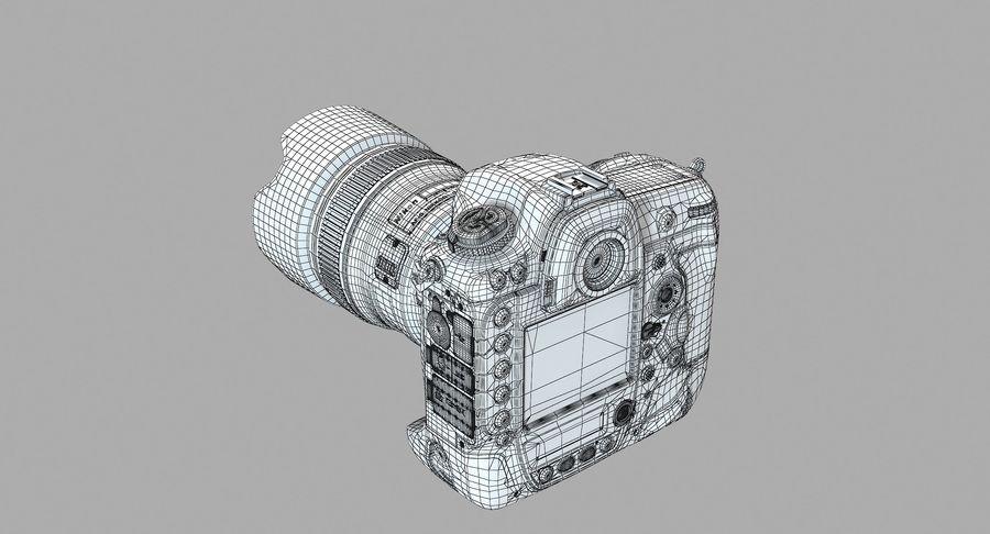 Nikon D5 Digital SLR Camera royalty-free 3d model - Preview no. 13