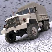 M35 WW2 Truck 3d model
