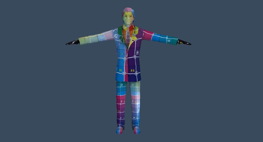 Doctor royalty-free 3d model - Preview no. 47