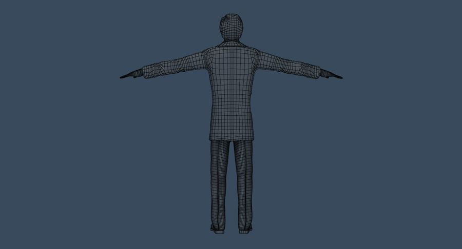 Doctor royalty-free 3d model - Preview no. 34