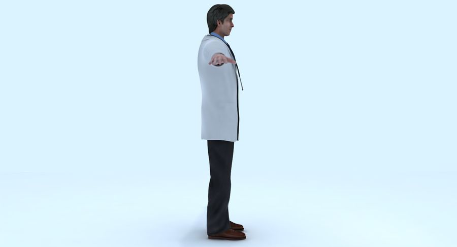 Doctor royalty-free 3d model - Preview no. 12