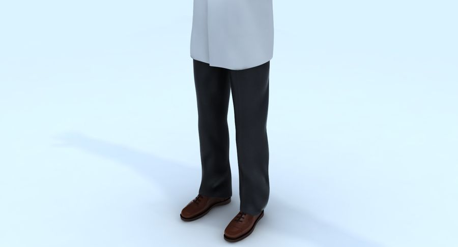 Doctor royalty-free 3d model - Preview no. 19