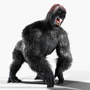 Gorila modelo 3d