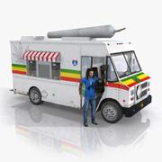 Ganja Truck(1) 3d model