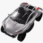 Пежо Хоггар 3d model
