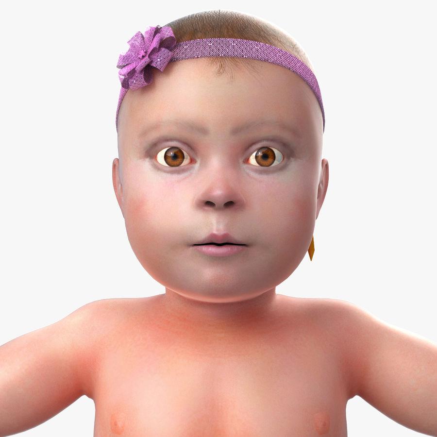 ребенок royalty-free 3d model - Preview no. 4