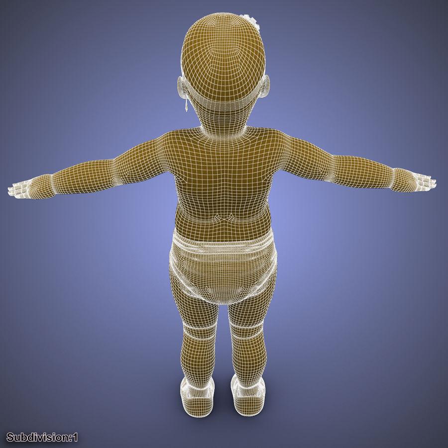 ребенок royalty-free 3d model - Preview no. 35