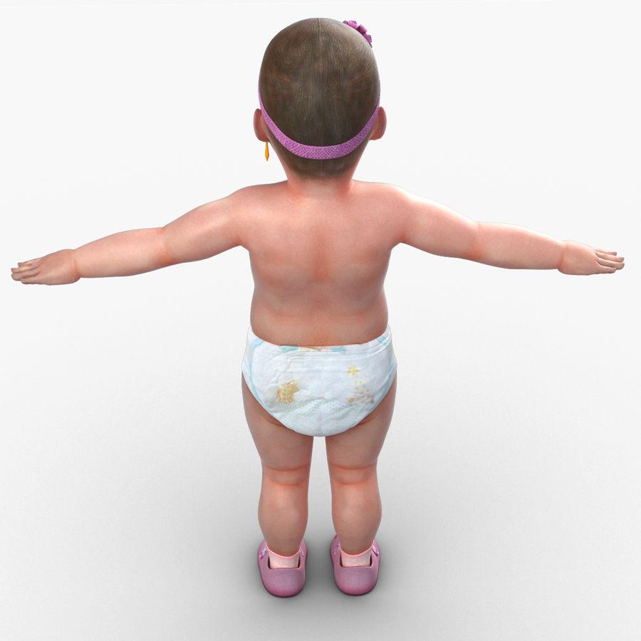 Bébé royalty-free 3d model - Preview no. 9