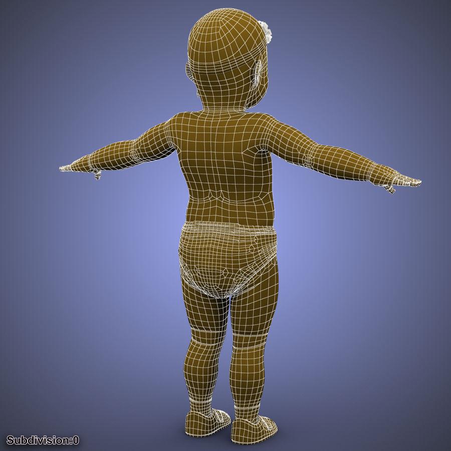 ребенок royalty-free 3d model - Preview no. 34