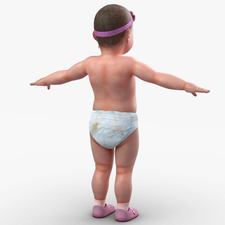ребенок royalty-free 3d model - Preview no. 8