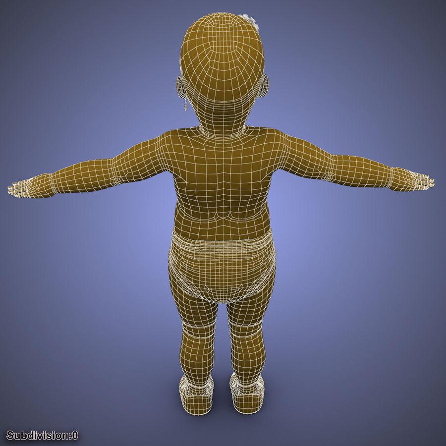 ребенок royalty-free 3d model - Preview no. 36