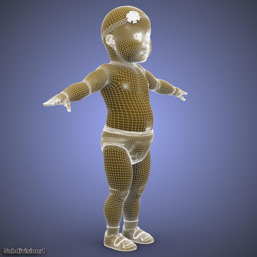 ребенок royalty-free 3d model - Preview no. 31