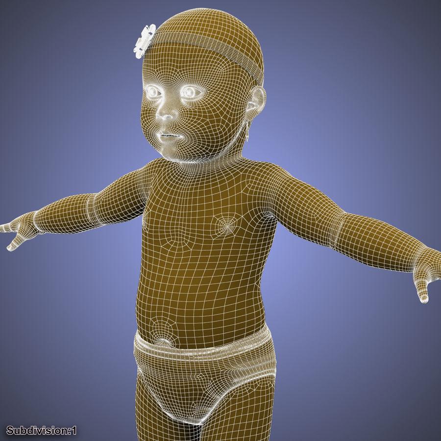 ребенок royalty-free 3d model - Preview no. 53