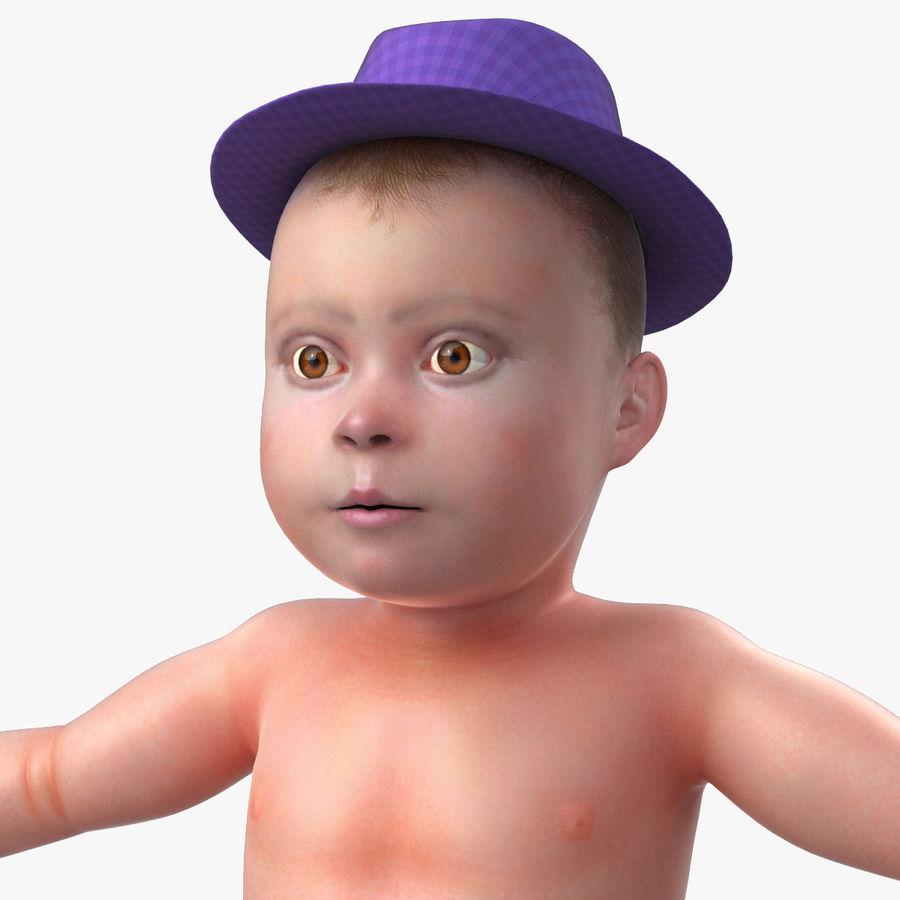 ребенок royalty-free 3d model - Preview no. 19
