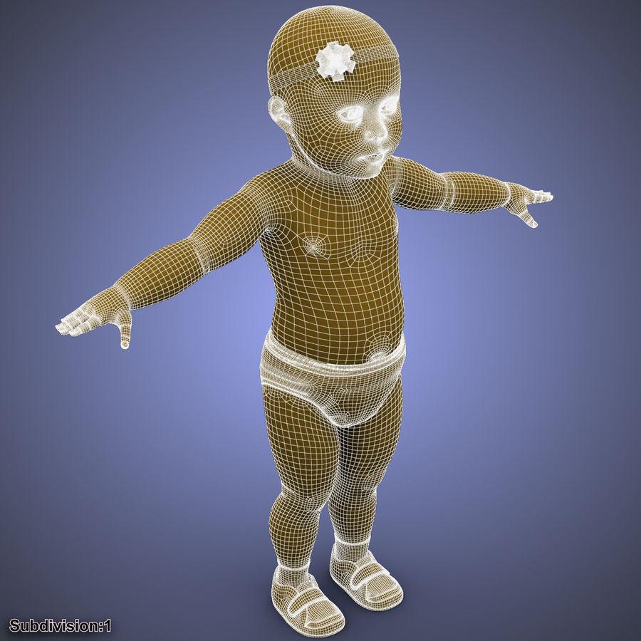 ребенок royalty-free 3d model - Preview no. 45