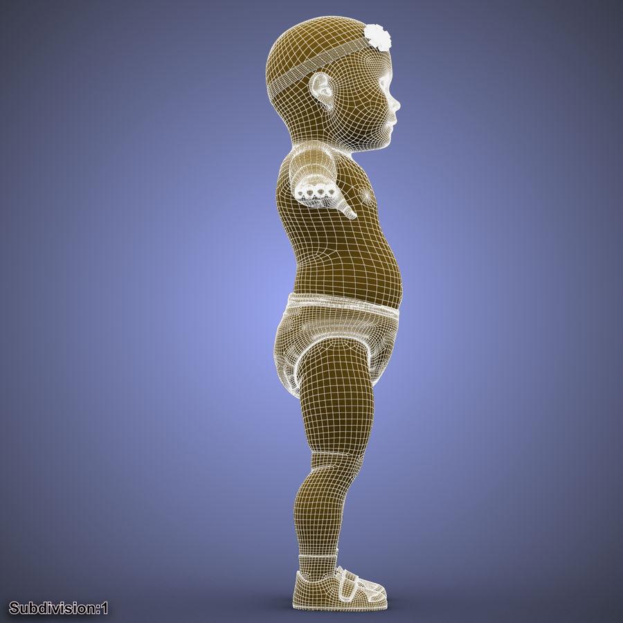 ребенок royalty-free 3d model - Preview no. 47