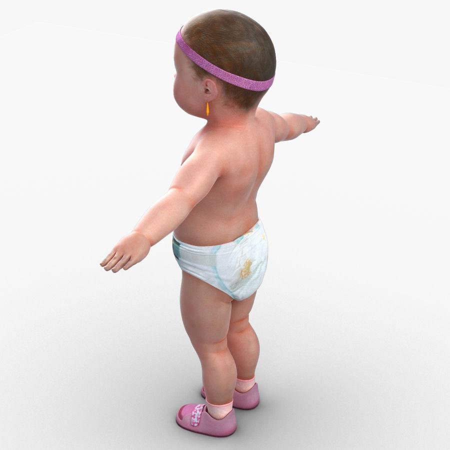 Bébé royalty-free 3d model - Preview no. 10