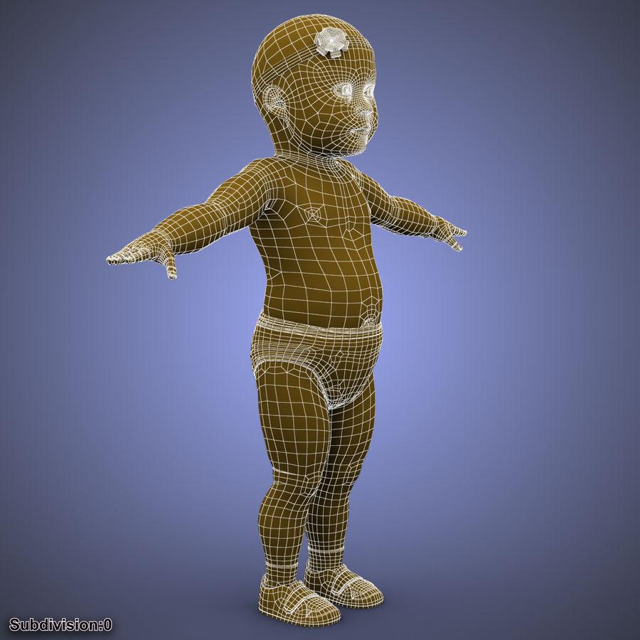 ребенок royalty-free 3d model - Preview no. 32