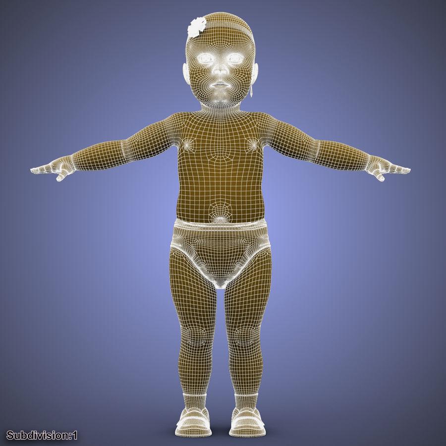 ребенок royalty-free 3d model - Preview no. 29