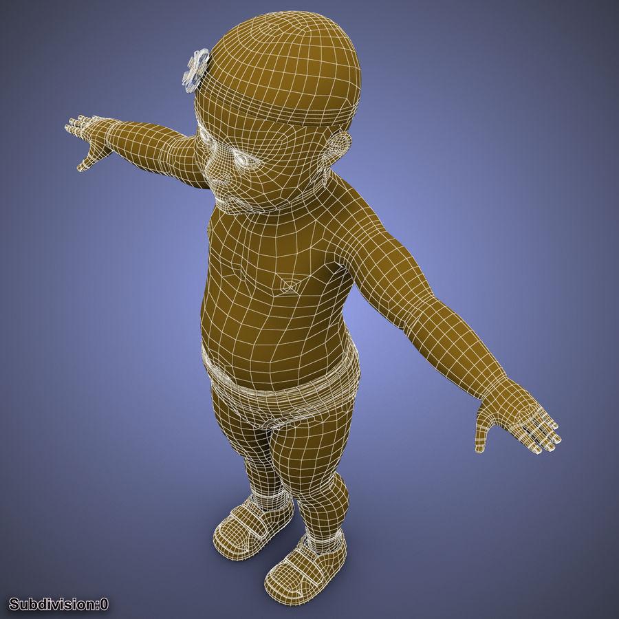 ребенок royalty-free 3d model - Preview no. 40