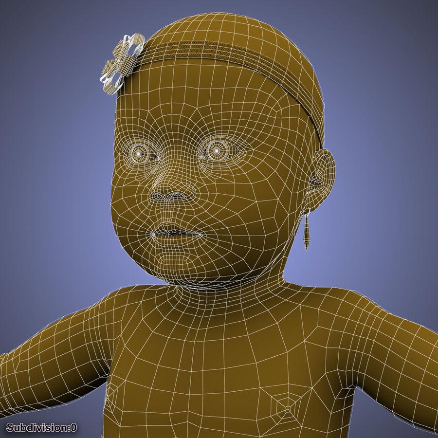 ребенок royalty-free 3d model - Preview no. 22