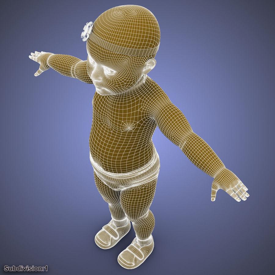 ребенок royalty-free 3d model - Preview no. 39