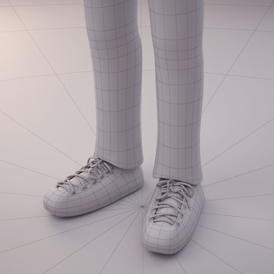 Velhote royalty-free 3d model - Preview no. 10