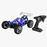 Rc Buggy Car & Control Set 3d model