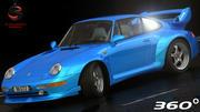 Porsche 911 GT2 1994 3d model