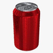 Färsk Soda Can 3d model