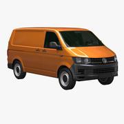 VW Transporter T6 3d model