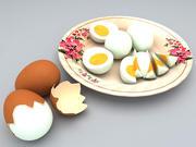Gekochtes Ei 3d model