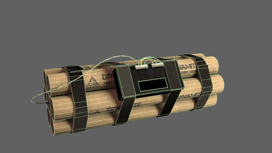炸药炸弹 royalty-free 3d model - Preview no. 3