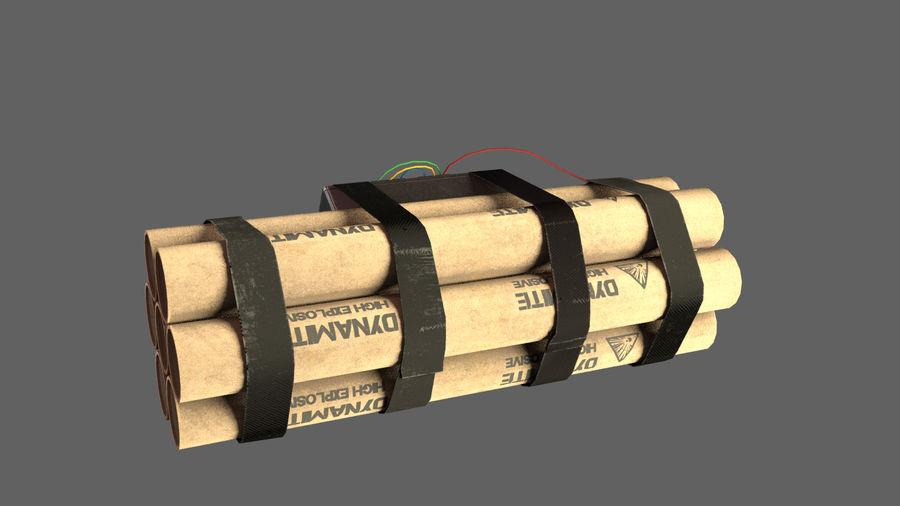 炸药炸弹 royalty-free 3d model - Preview no. 2