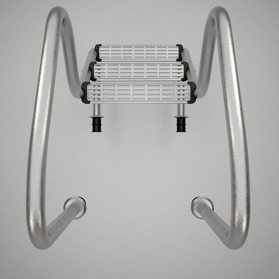 Escaleras de piscina royalty-free modelo 3d - Preview no. 9