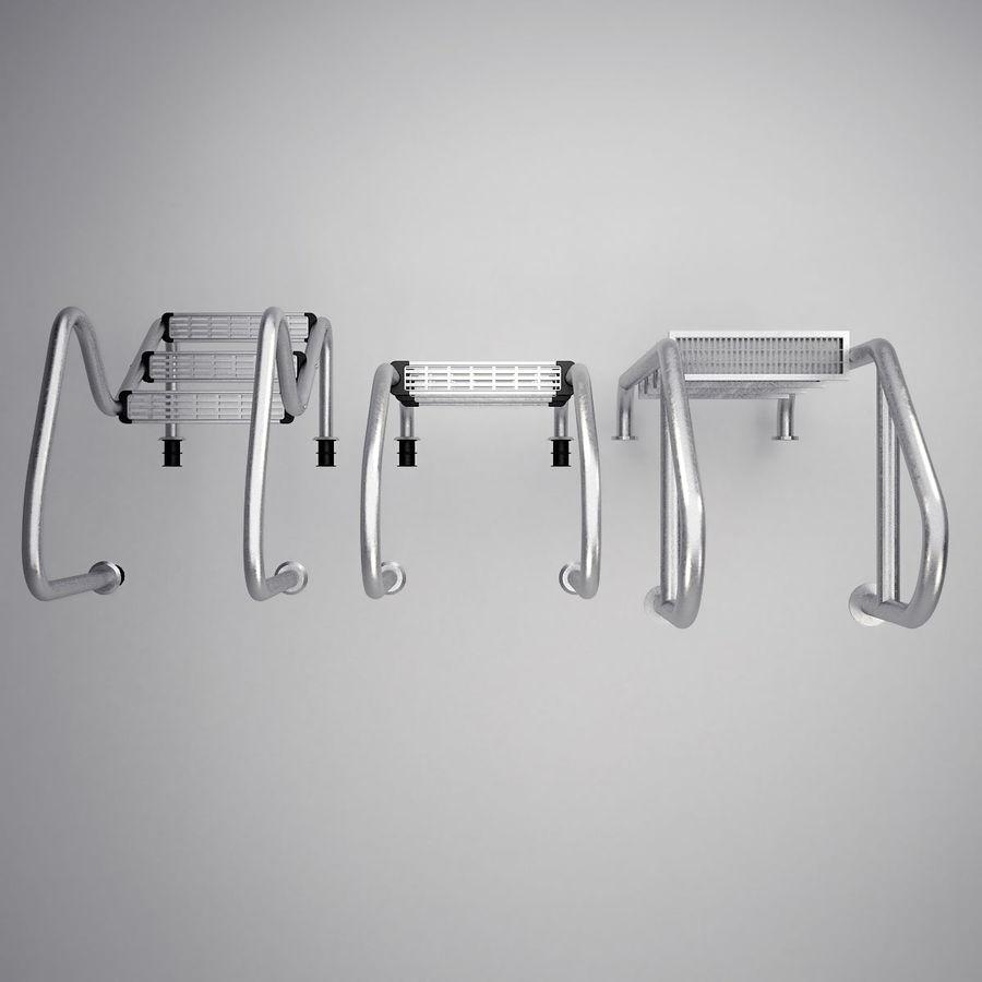 Escaleras de piscina royalty-free modelo 3d - Preview no. 4