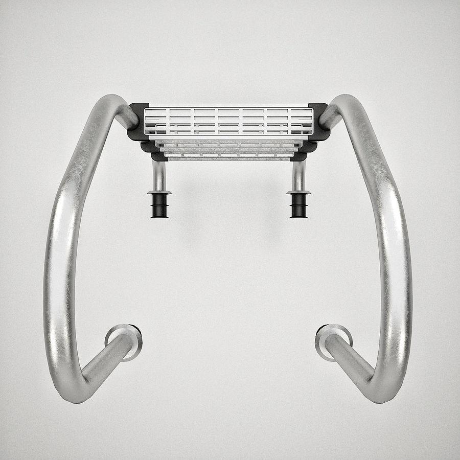 Escaleras de piscina royalty-free modelo 3d - Preview no. 13