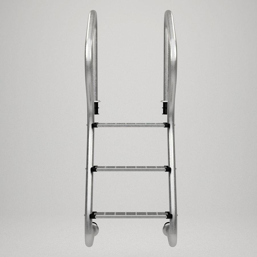 Escaleras de piscina royalty-free modelo 3d - Preview no. 8