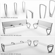 forms + surfaces BENCH 3d model