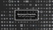 Mechanical Essentials Kitbash Vol1 340 pièces 3d model