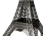 Modelo de estrutura simplificada da Torre Eiffel - MM em grande escala 3d model